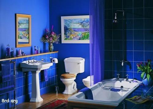 Baños Color Verde Limon:Los baños coloridos son una de las tendencias más claras en la