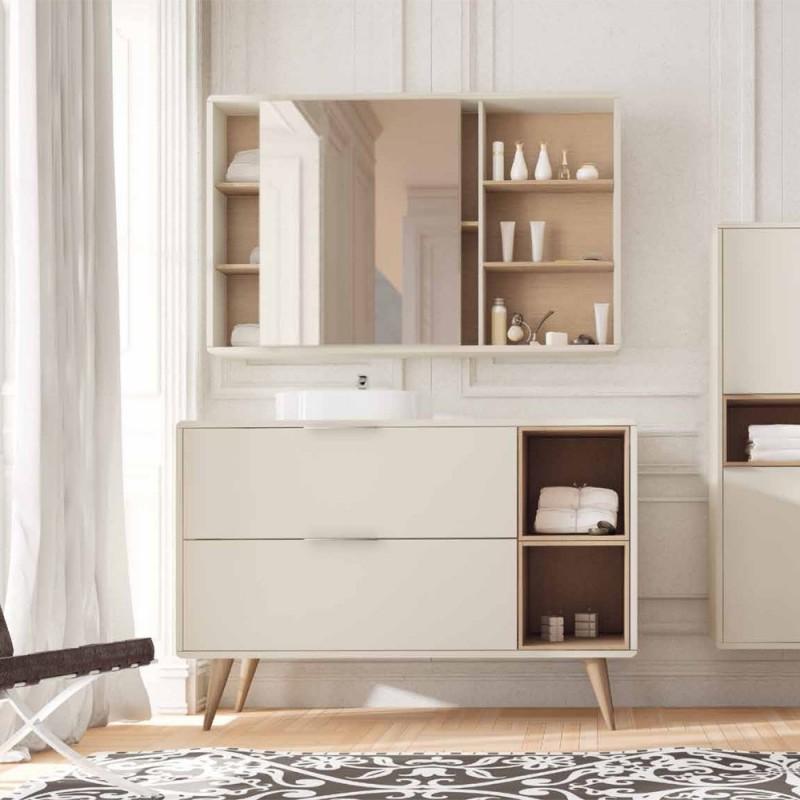 Muebles de ba o columna vintass suelo for Mueble columna bano