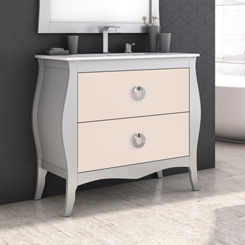 Muebles de ba o mozart 100 cm for Muebles de bano 75 cm