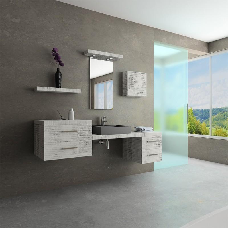 Mueble de ba o argos 180 cm mobalux for Mueble salon 180 cm