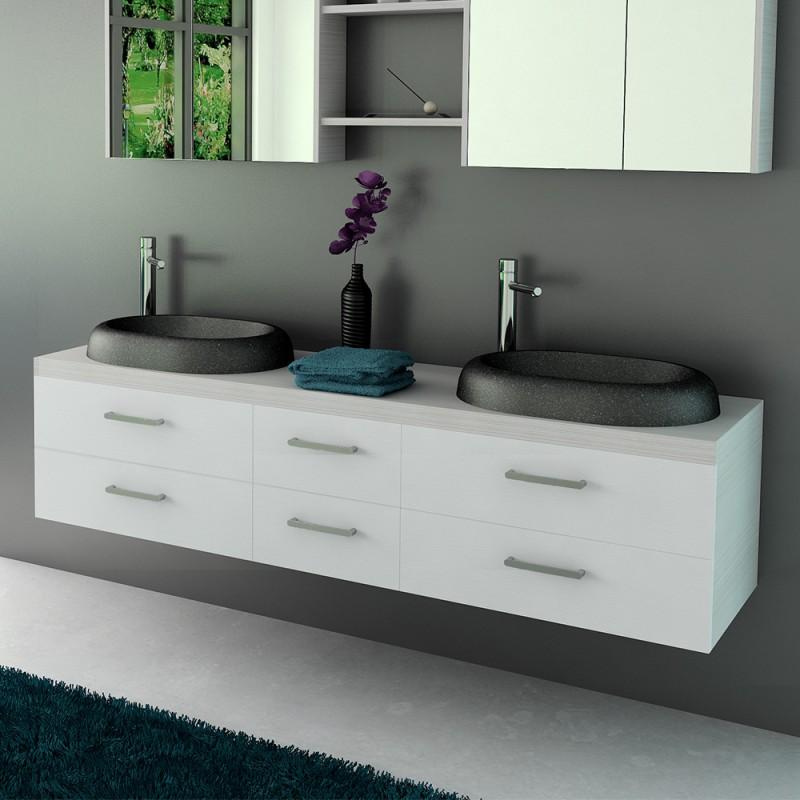 Mueble de ba o argos 180 cm 3 mobalux for Mueble salon 180 cm