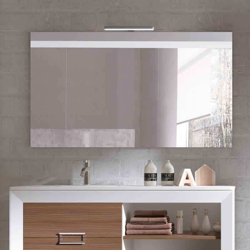 Muebles de ba o l gant 140 cm incluye encimera y espejo for Mueble bano 75 cm