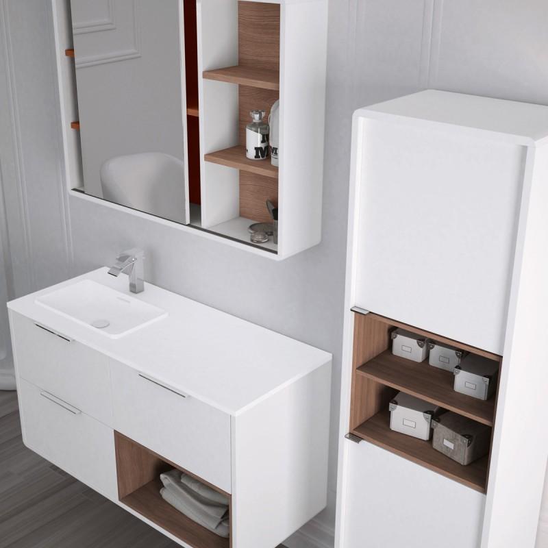 Muebles De Ba O Vintass 120 Cm Incluye Encimera Y Espejo