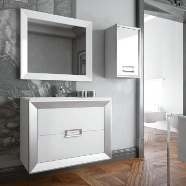 Mueble de baño L-Gant 120 cm suspendido