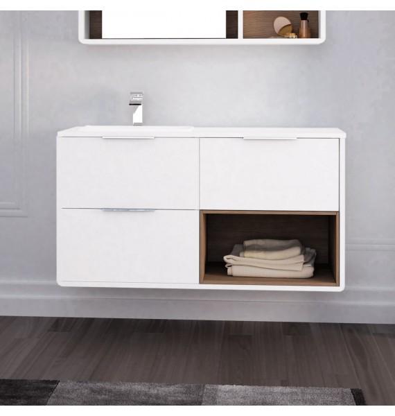 Mueble de baño 140 cm Vintass 3 cajones