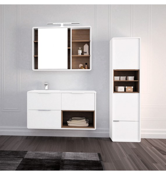 Mueble de baño Vintass 100 cm 3 cajones