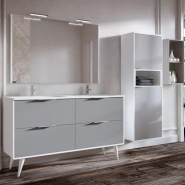 Mueble de baño Vintass 120 cm 4 cajones suelo
