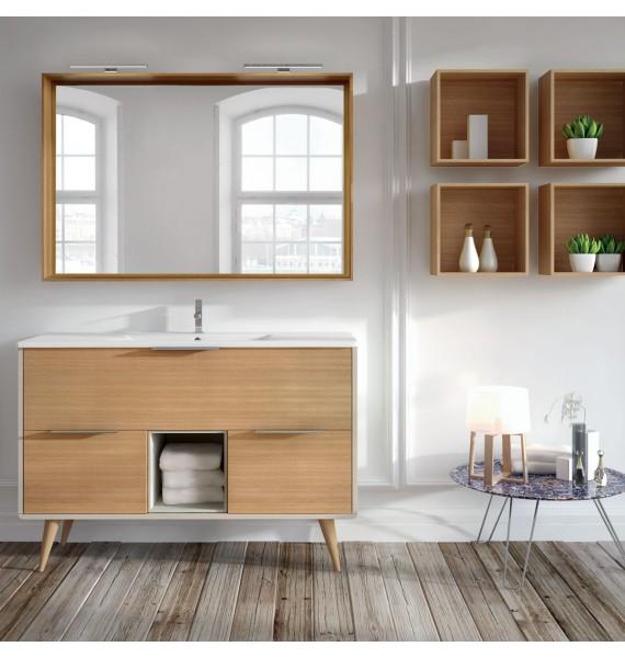 Mueble de baño Vintass 100 cm 3 cajones y hueco