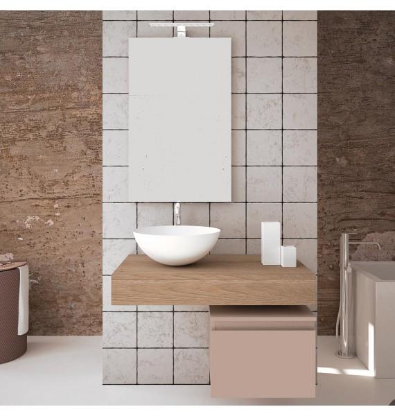 Mueble de baño Aqua 80 cm