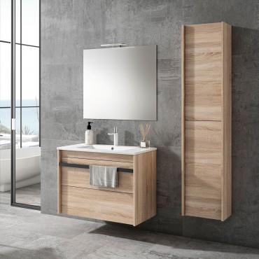 Mueble de baño Milán 80 cm