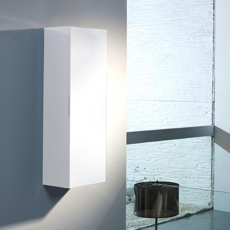 Muebles de ba o columna oval for Columna de bano ikea