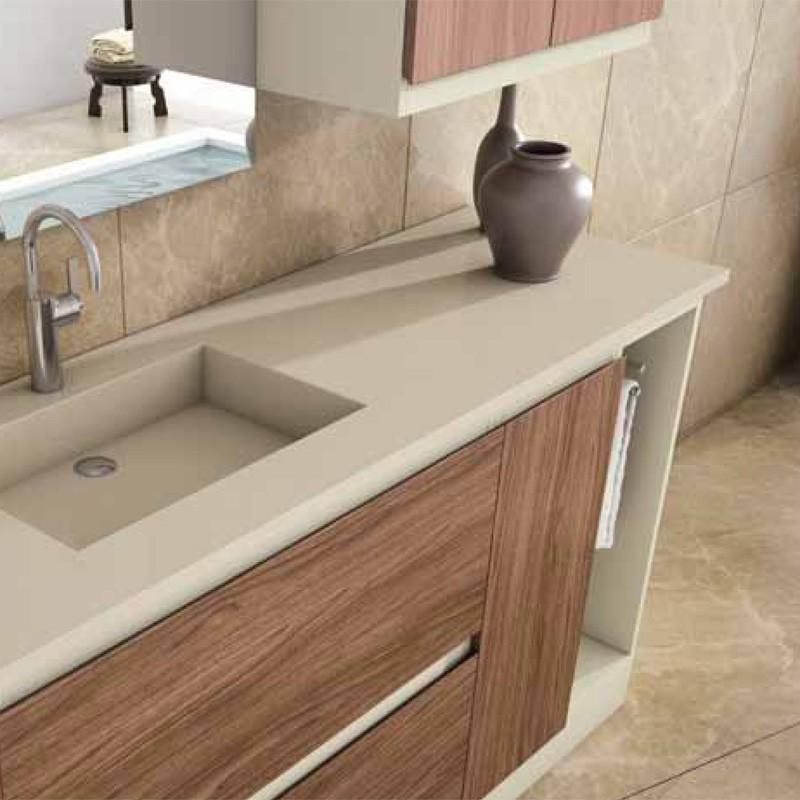 Muebles de ba o modular 150 cm for Muebles de lavabo de 60 cm