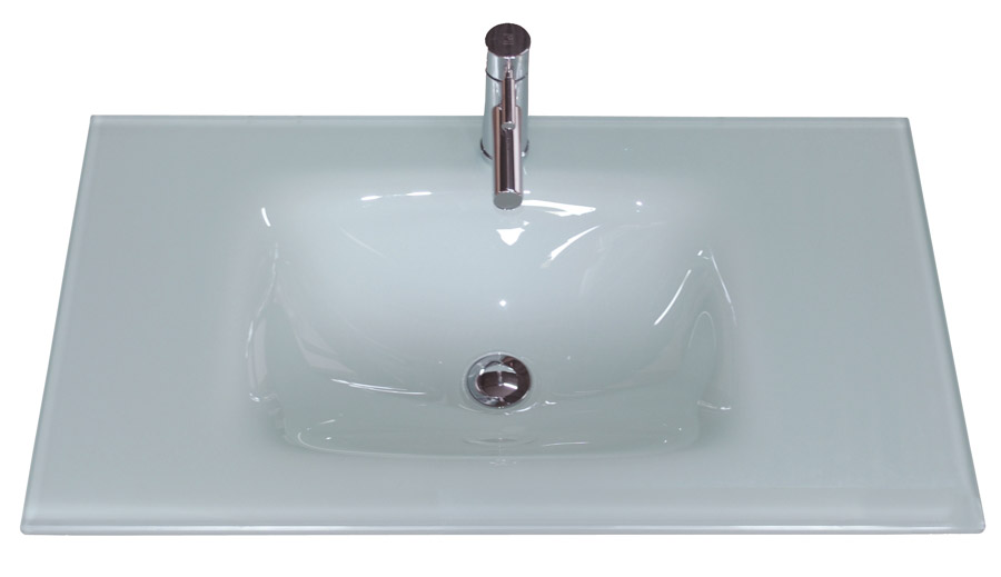 Encimeras mobalux for Encimera blanco cristal