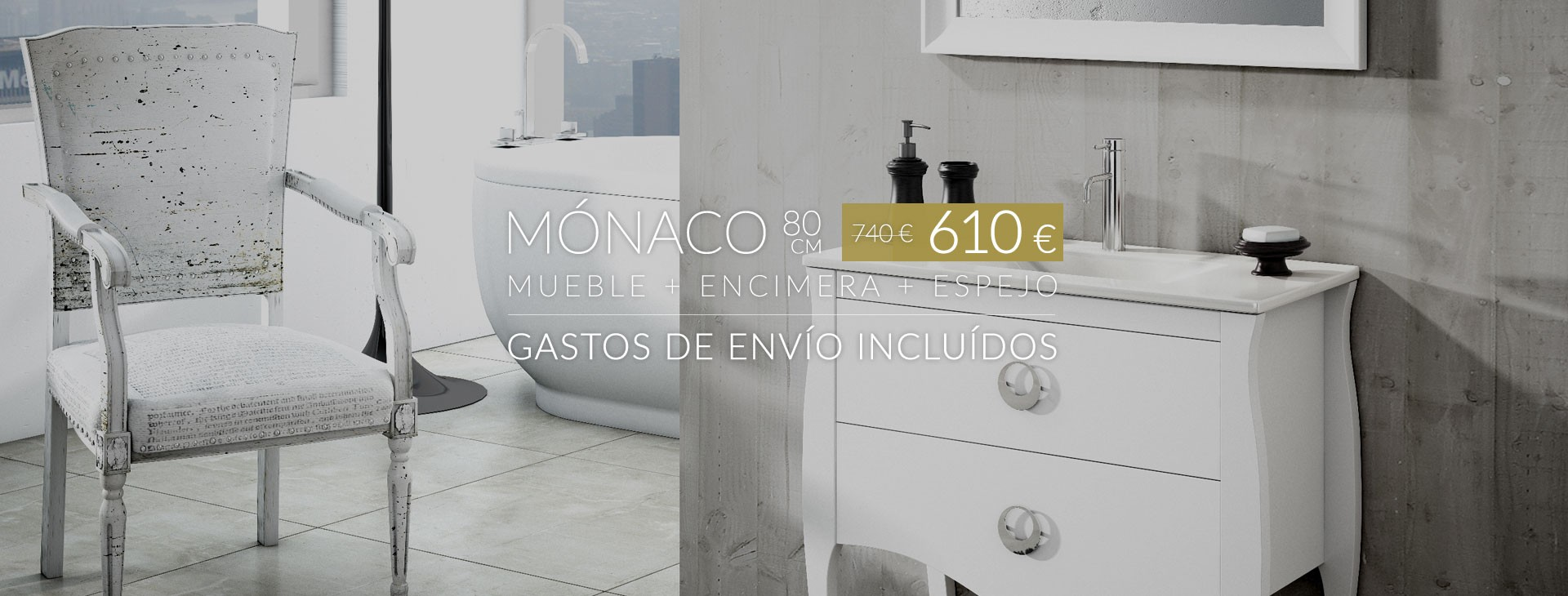 Mónaco 80 cm